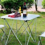 precios de mesas camping desmontables