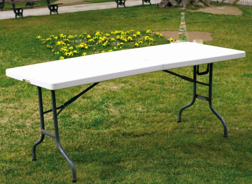 mesas baratas plegables de plástico