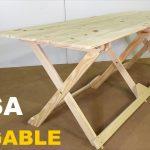 precios de mesas de madera plegables