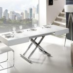 mesas plegables elegantes para salón